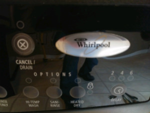 whirlpool stainless steel dish washer with free delivery