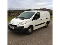 Citroen Dispatch 2L Diesel Van, 6 door, ply lined, roof rack