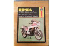 Honda Cb750 & Cb 900 Dohc Fours Haynes Manual