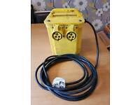 Twin outlet 110 transformer.