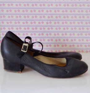 Angelo Luzio Mary Jane Tap Shoes Size 5 1/2 Shoes Only, No Taps
