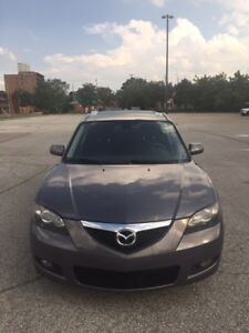 MAZDA 3 2007 FULLY LOADED WITH 131000 KM!! WITH SEFTAY &ETEST