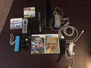 Nintendo Wii Console w/ Games for Sale