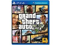 GRAND THEFT AUTO V (GTA 5) - PS4 game