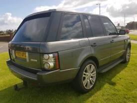 Range Rover tdv6 automatic se tax MOTD tow bar