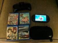 Sony PS Vita Slim, Games & Case