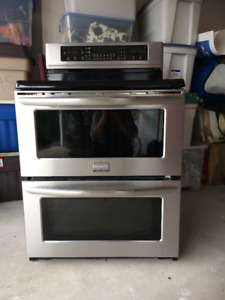 Stainless Steel Frigidaire Gallery Dual Oven Electric Range
