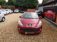 Peugeot 207 1.4 75 Envy 2011 Petrol Maunal Red Only 55k Miles