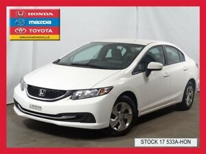 2014 Honda Civic LX+SIEGES CHAUFFANTS+BLUETOOTH+A/C