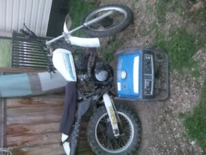 250 dirt bike and generator for trade