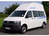 VW Camper van T5 highline LWB 2011 low mileage campervan hightop very good condition