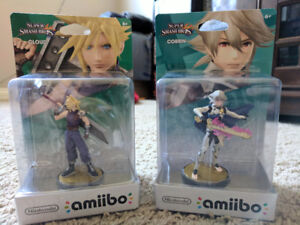MAKE AN OFFER - Cloud and Corrin Amiibo