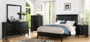 The Emily queen bed room suite, as pictured, ONLY $1399, NEW
