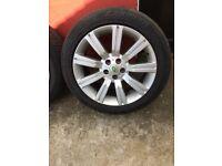 21 inch alloy wheels