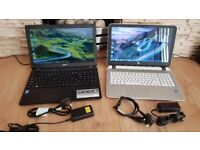 2 laptops for sale no offers please