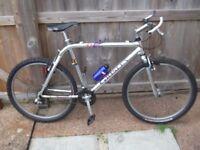 grisley mountain bike usa bike/RARE, 20 INCH FRAME