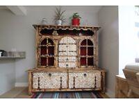 Unique French Wooden Dresser