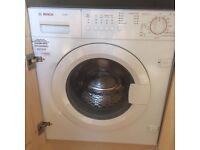 Bosch Logixx7 integrated washing machine in excellent condition