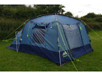 Khyam Chatsworth (Blue) - 4 berth Tent with Rapidex Fast Pitching system