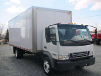 Big boys Movers short notice 16 ft truck 2 movers  for60 an hr