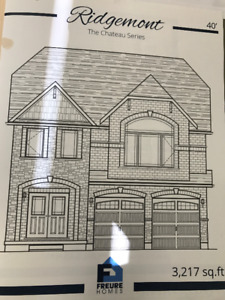 3,217 Sf Brand New Home with Walk Out Bsmnt in Kitchener