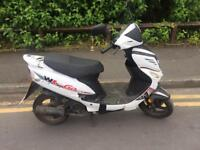 WK go 50. Learner legal scooter 12 months m.o.t