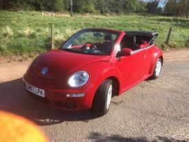*** Volkswagen Beetle convertible swap px car van ***