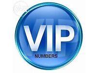 VIP, GOLD, PLATINUM & MEMORABLE NUMBERS