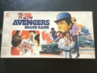 The New Avengers Board Game (Denys Fisher Toys)