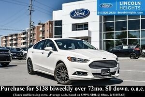 2014 Ford Fusion SE - BLUETOOTH - MOONROOF - REAR VIEW CAMERA -