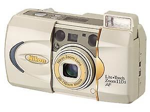 Nikon Lite Touch Zoom 110s AF 35mm Point & Shoot Film Camera