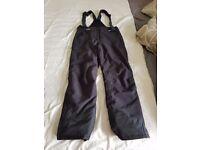 Ski suit salopette (medium) 10000 K water resistant