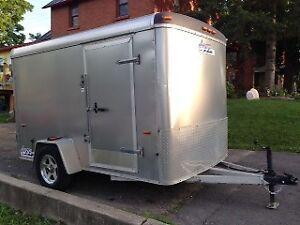 ALL Aluminum 6x10 Enclosed Trailer -Excellent condition