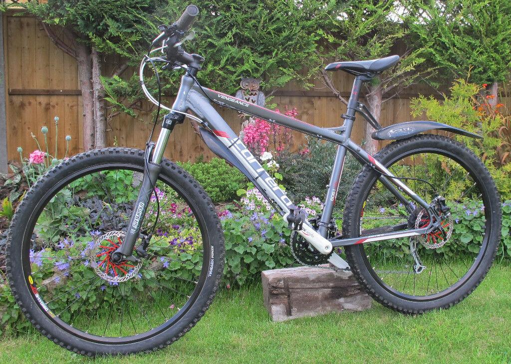 Mens Carrera Vengenace Mountain Bike 18inch Frame, 26 inch Wheels ...