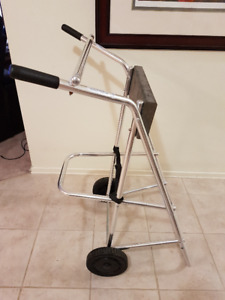 Outboard Motor Stand-Holds Motors Up To 130 Lbs (Up To 30HP)Mint