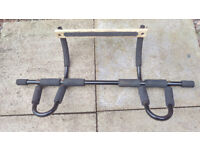 Multi-position home gym pull up bar