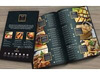 Menu Design - Restaurants/Bars