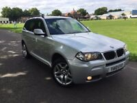 BMW X3 2.0 DIESEL M SPORT AUTOMATIC 2010 FULL LEATHER FULL HISTORY CLEAN CAR FULL HISTORY