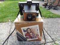 polaroid colour camera