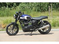 Triumph BONNEVILLE Newchurch 865cc - Air Cooled Classic. Like New