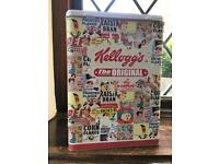 Classic Vintage Cereal Tin 2 Different Designs Available