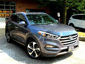 2016 Hyundai Tucson Limited ,AWD,ONE OWNER,CERTIFIED