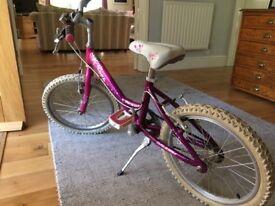 """Girls Raleigh STARZ Bike excellent condition 18"""""""