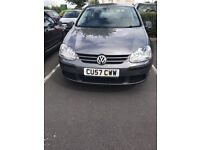 Volkswagen Golf GREY, FSH, Good Condition, 62k Miles, 2 Owners, Full Service History