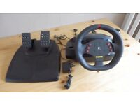 Logitech MOMO racing wheel & pedals