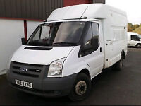 2008 Ford Transit T350m 100 engineers Box van for Auction