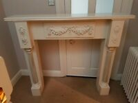 Large fire surround