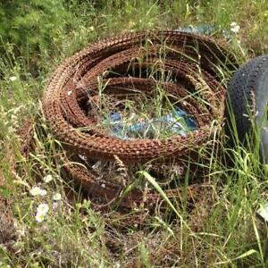 Razor wire fencing, 8 huge rolls (1000 ft total?) ALL for $50