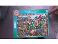 Yesterdays Treasures 1000 pieces