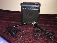 TWO SETS OF MICROPHONE + SPEAKER